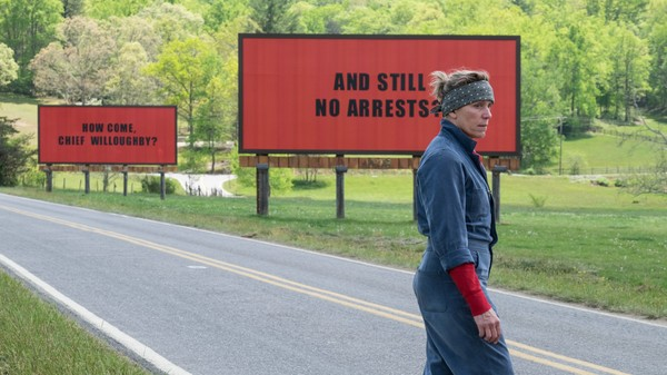 Bild zu Zwei Oscars für Three Billboards Outside Ebbing, Missouri