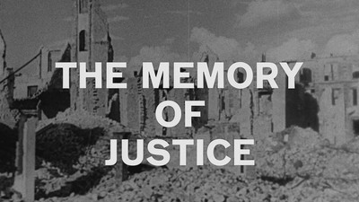 Bild zu The Memory of Justice